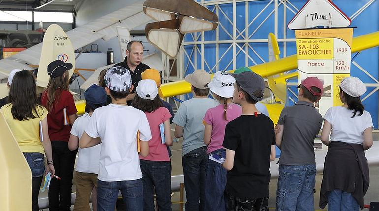 musée, aviation, Angers, Espace Air Passion, ateliers enfants