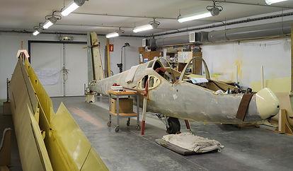 musée, aviation, Angers, Espace Air Passion, GPPA, atelier entoilage, restauration aéronautique