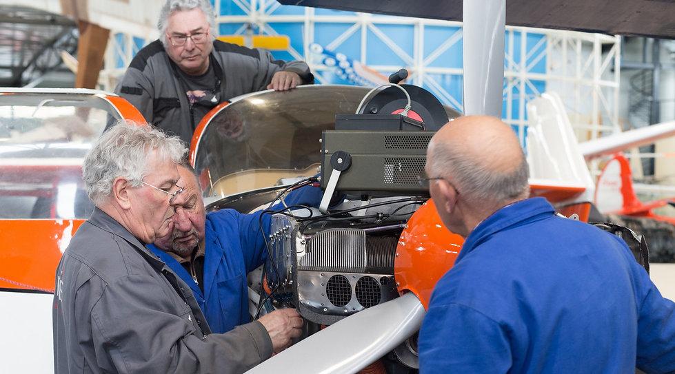 musée, aviation, Angers, Espace Air Passion, devenir bénévole