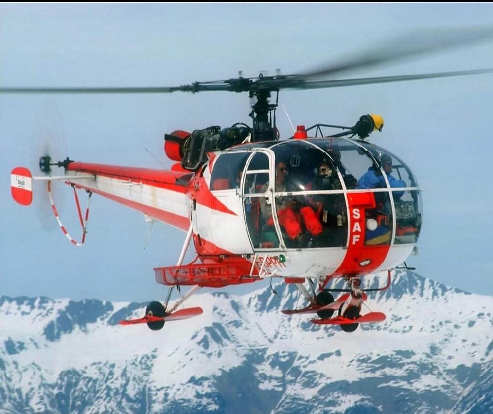 Alouette III n° 2245 SAF