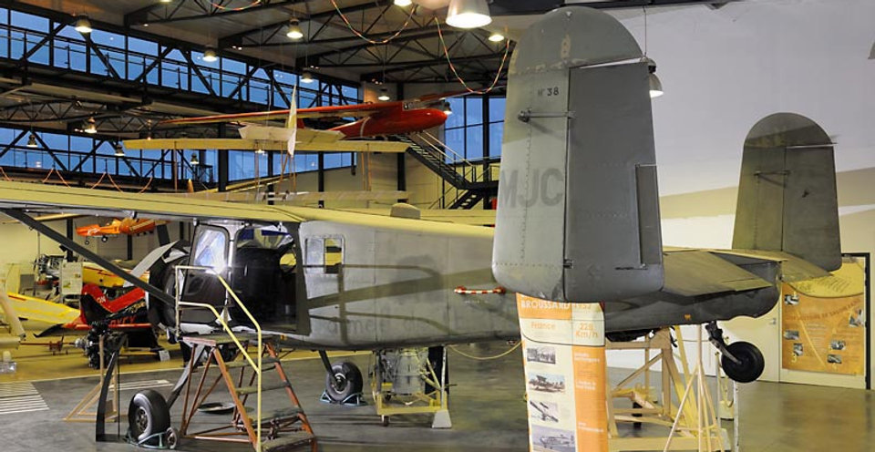 musée, aviation, Angers, Espace Air Passion, Max Holste MH-1521 Broussard