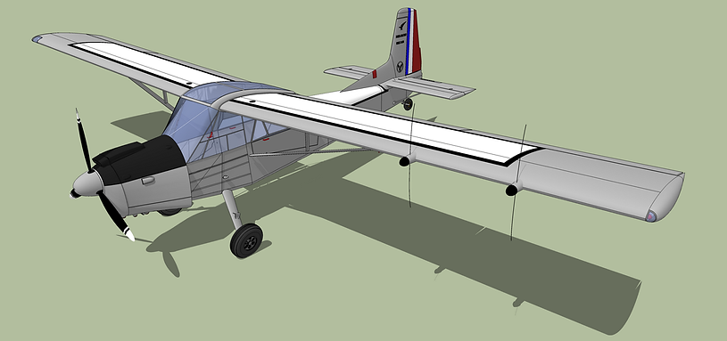 musée, aviation, Angers, Espace Air Passion, avion, Nord 3400, 3D