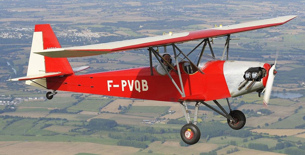 musée, aviation, Angers, Espace Air Passion, Potez 60