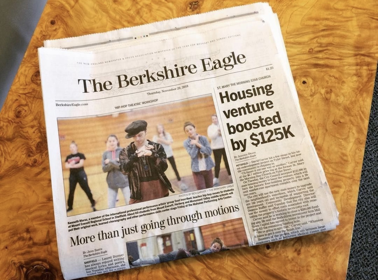 The Berkshire Eagle Front Page