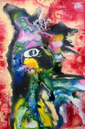 Sacred Macaw Guardian