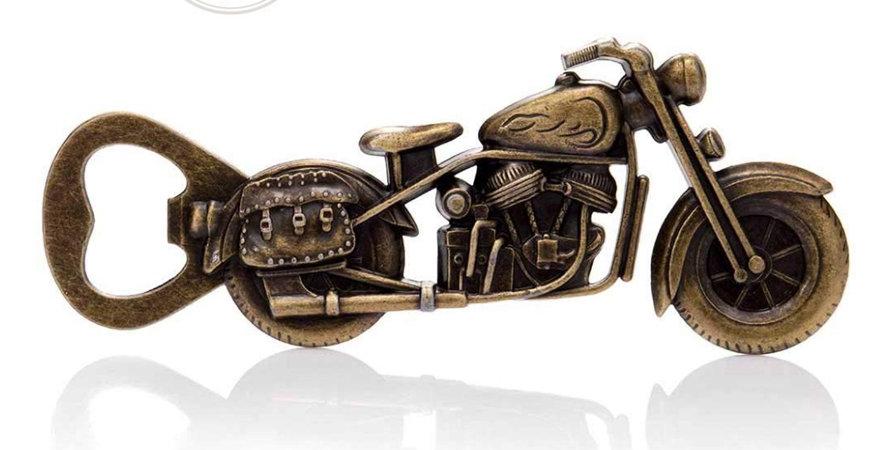 Unique Vintage Motorcycle Bottle Opener