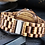 Thumbnail: Elegant Personalized/Engraved Exotic Zebra Round Wooden Watch with Date Display