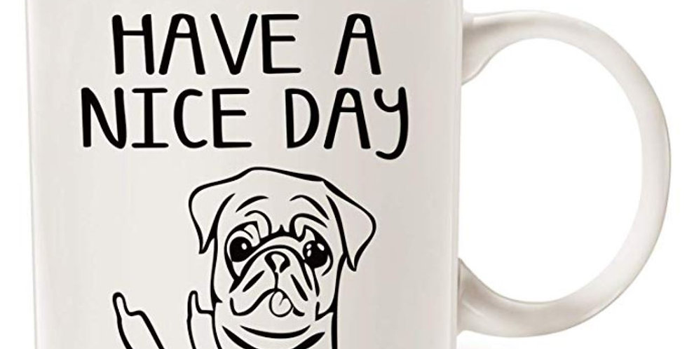 Cute Dog Coffee Mug for Dog Lovers 11oz