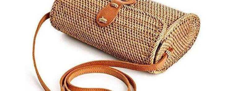 Womens Handmade Fashion Rattan Bag