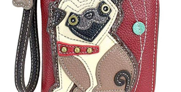 Sweet Pug Wallet / Credit Card Slot