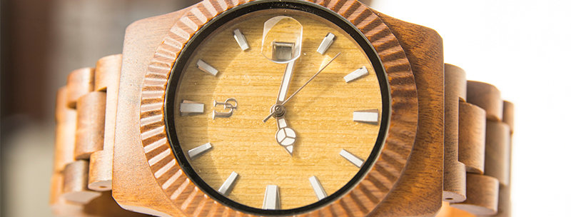 UD Personalized/Engraved Unisex Vera Wood Watch