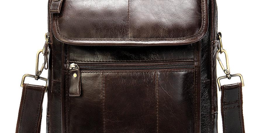Men's Premium Leather Crossbody Bags