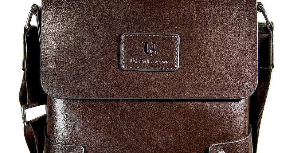 Mens Premium Leather Bag Messenger Bag For Man Cross body Bag