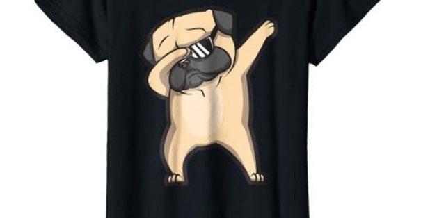 Cute Funny Pug Dab T-Shirt