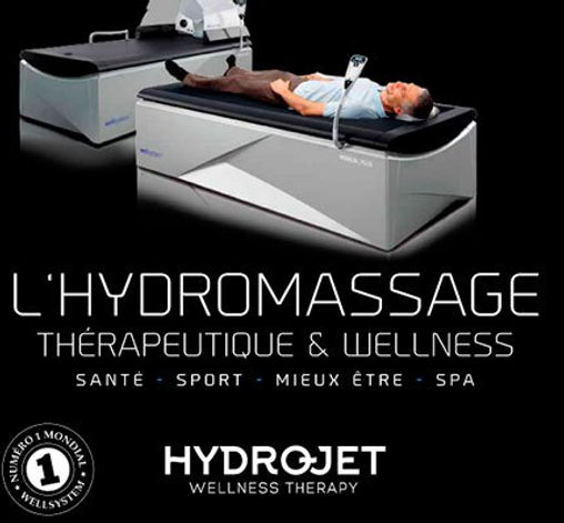 Hydrojet massage à sec Relaxation