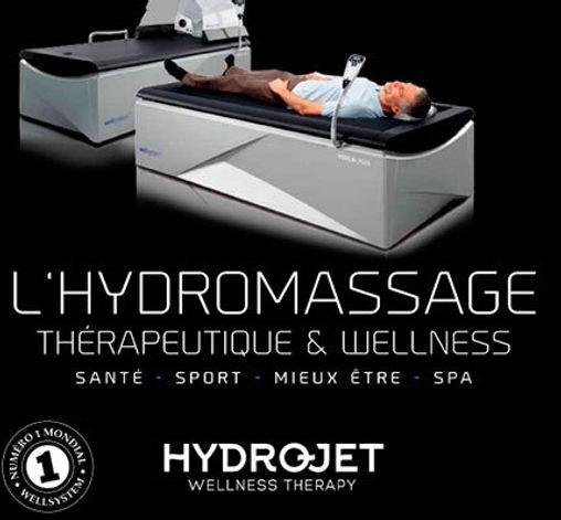 Hydrojet massage à sec Relaxation