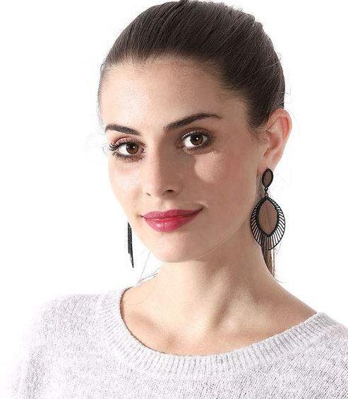 Wooden Earrings for Women - Statement Earrings for Women wood Boho Fashion