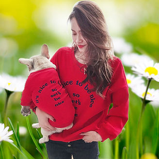 Pet & Owner Matching sweater in red.jpg