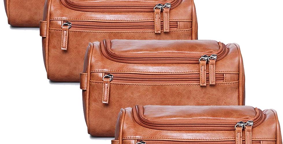 Groomsmen Present-Mens Travel Toiletry Bag Hanging Organizer Portable