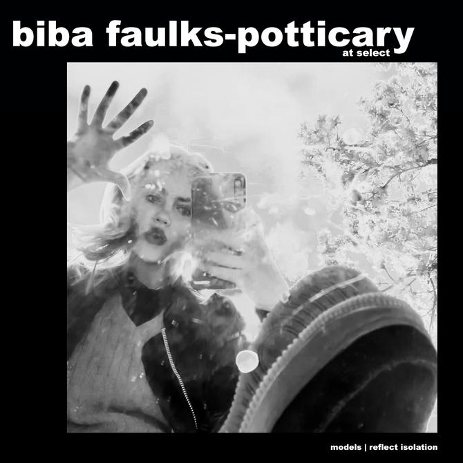 MODELS REFLECT ISOLATION: BIBA FAULKS-POTTICARY