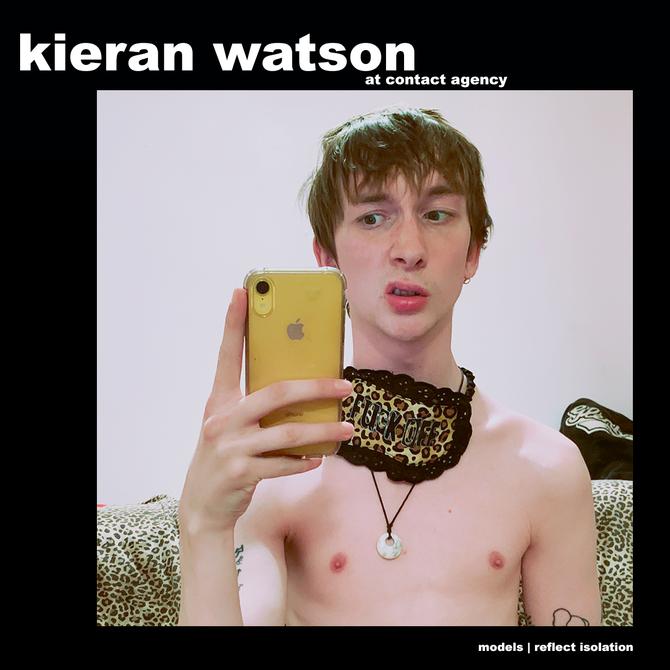 MODELS REFLECT ISOLATION: KIERAN WATSON