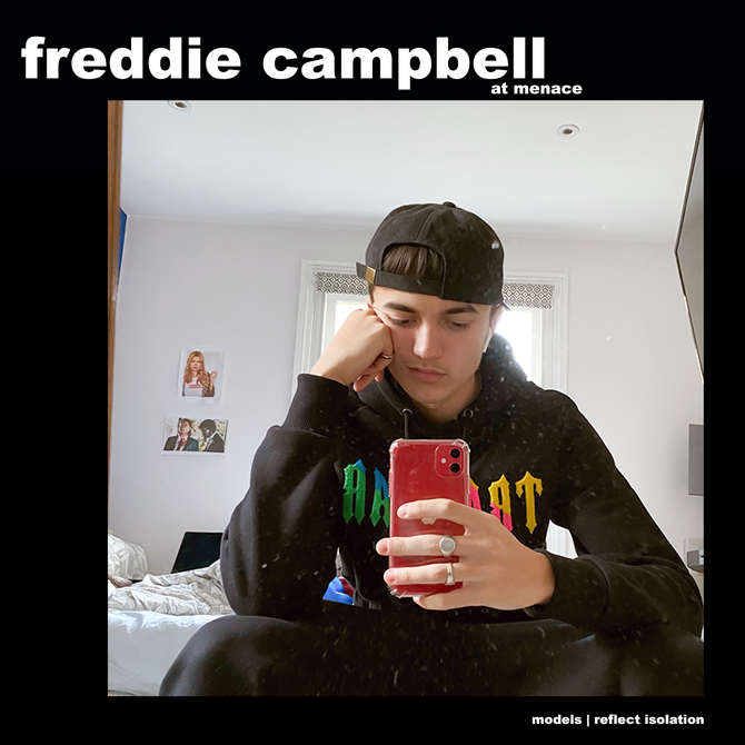 MODELS REFLECT ISOLATION: FREDDIE CAMPBELL