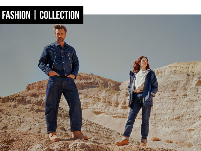 COLLECTION: ON THE MOVE WITH LEE JEANS AND TIMBERLAND