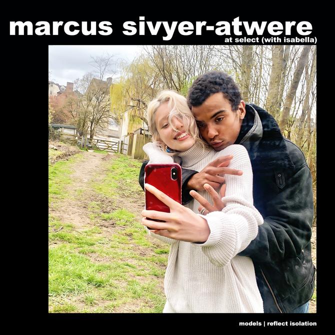 MODELS REFLECT ISOLATION: MARCUS SIVYER-ATWERE