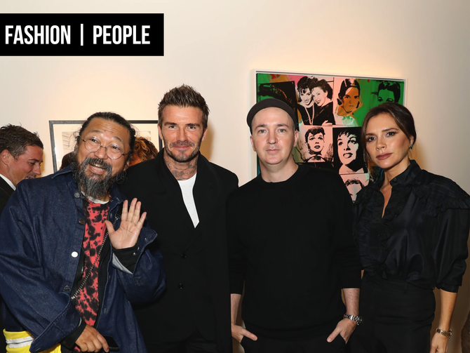 PEOPLE: AN EVENING WITH THE BECKHAMS, ANDY WARHOL & DON JULIO
