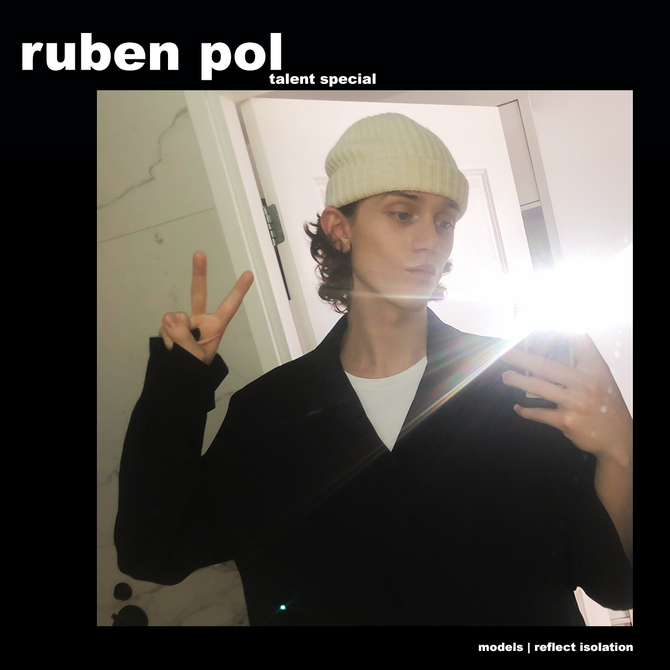 MODELS REFLECT ISOLATION (TALENT SPECIAL): RUBEN POL