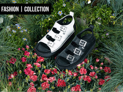 KICKERS KNOX LO SANDAL; STRAP IN AND BUCKLE UP!