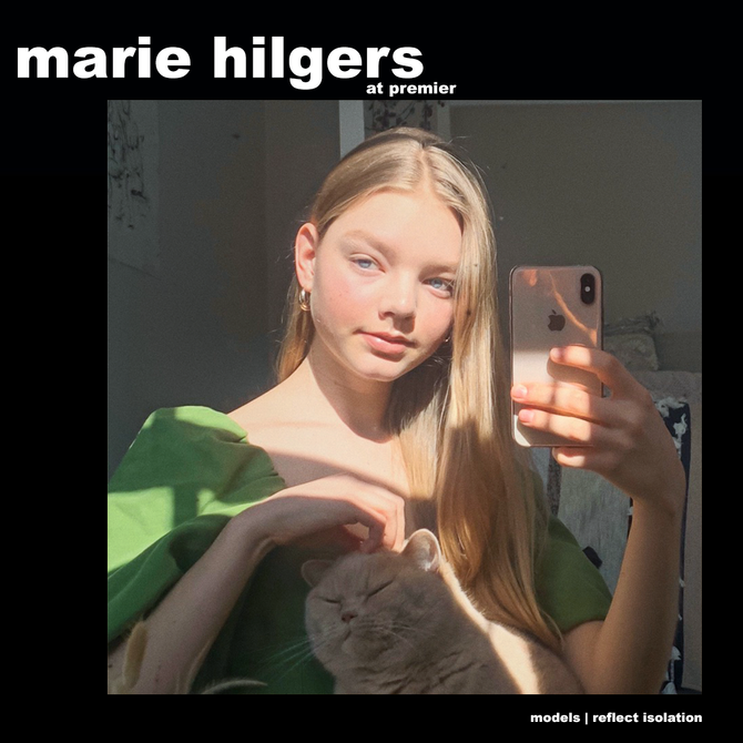MODELS REFLECT ISOLATION: MARIE HILGERS