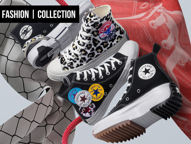 FASHION: CONVERSE'S TWIST ON CLASSICS FOR SPRING 2020