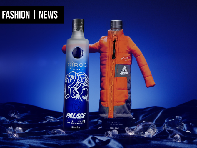 CÎROC VODKA AND PALACE COLLABORATE ON AN EXCLUSIVE  LIMITED EDITION NEW BOTTLE DROP