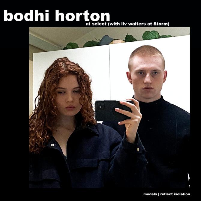 MODELS REFLECT ISOLATION: BODHI HORTON