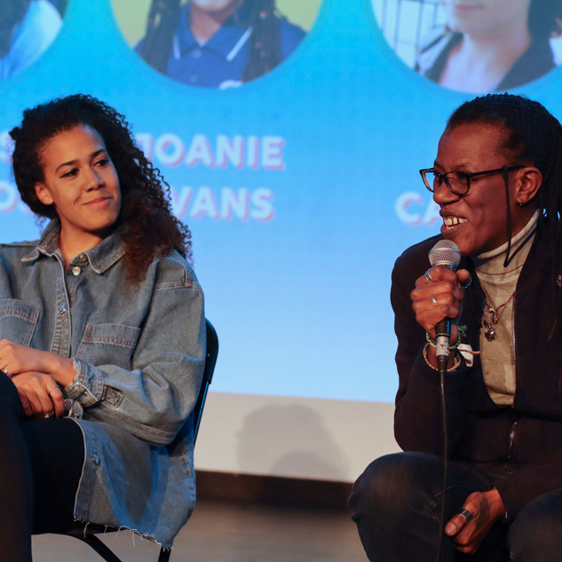 Chloe Morgan & Joanie Evans