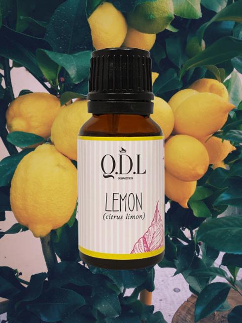 Ätherisches Bio-Zitronenöl (Citrus Limon) aus Italien (15 ml)