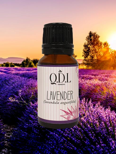 Ätherisches Bio-Lavendelöl (Lavandula Angustifolia) aus Frankreich (15 ml)