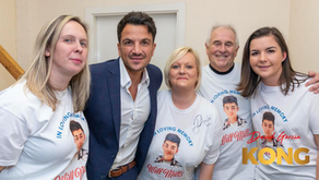 Fundraising in Dudley with Peter Andre!