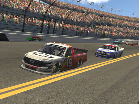 Roell sneaks one at Daytona