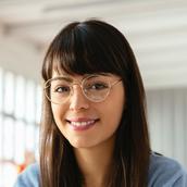 Donna con gli occhiali