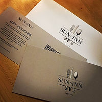 Gift Vouchers are available at the bar.j