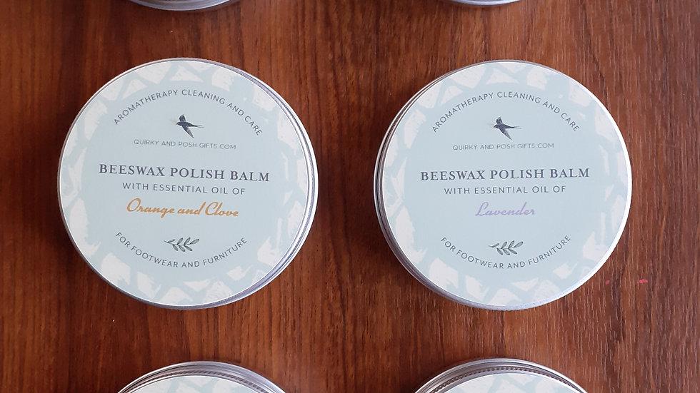100ml. Aromatherapy Beeswax Polish Balm p&p inc.