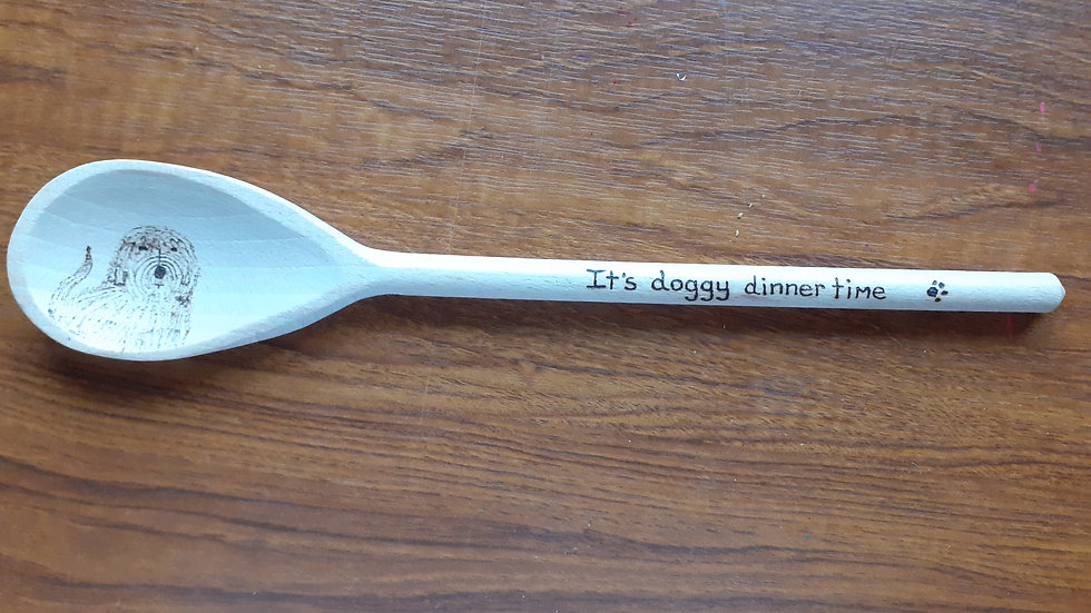 Pet Food Serving Spoon For Dogs pp inc.