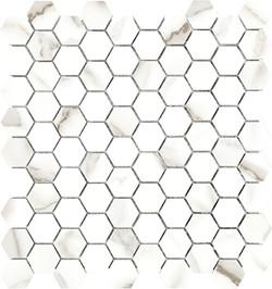 Mayfair Calacatta Hex Mosaics pol
