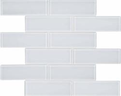 Element Ice Glass Brick Mosai