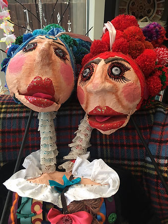 Ugly Sisters Puppet