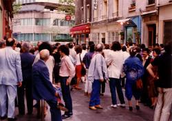 Rue Vandamme devant Desmos, 1983
