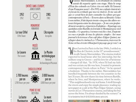 Le magazine des Aéroports de Paris parle de Desmos