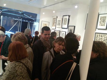 Après le vernissage, l'exposition Eekman se poursuit